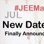 JEE Main new exam dates announced